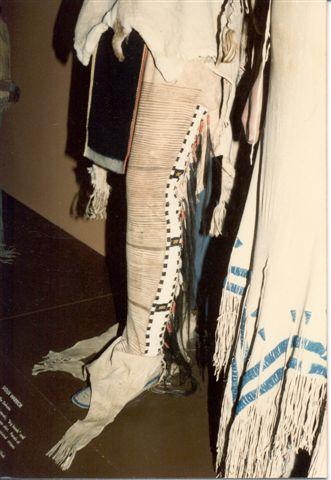 Legíny pláně. Ze sbírky plk. G. K. Warrena snad z bitky ze Siouxského tábora u Ash Hollow. Smithsonian Institution.