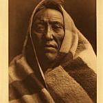 Černonožec na fotografii E.Curtise