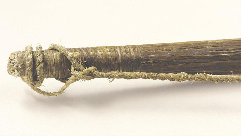 Detail šlachování luku.