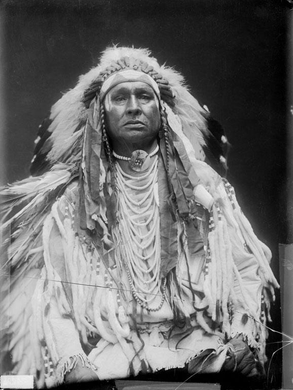 Honí ho běloch. Jeden ze zvědů G.A.Custer na Little Bighornu