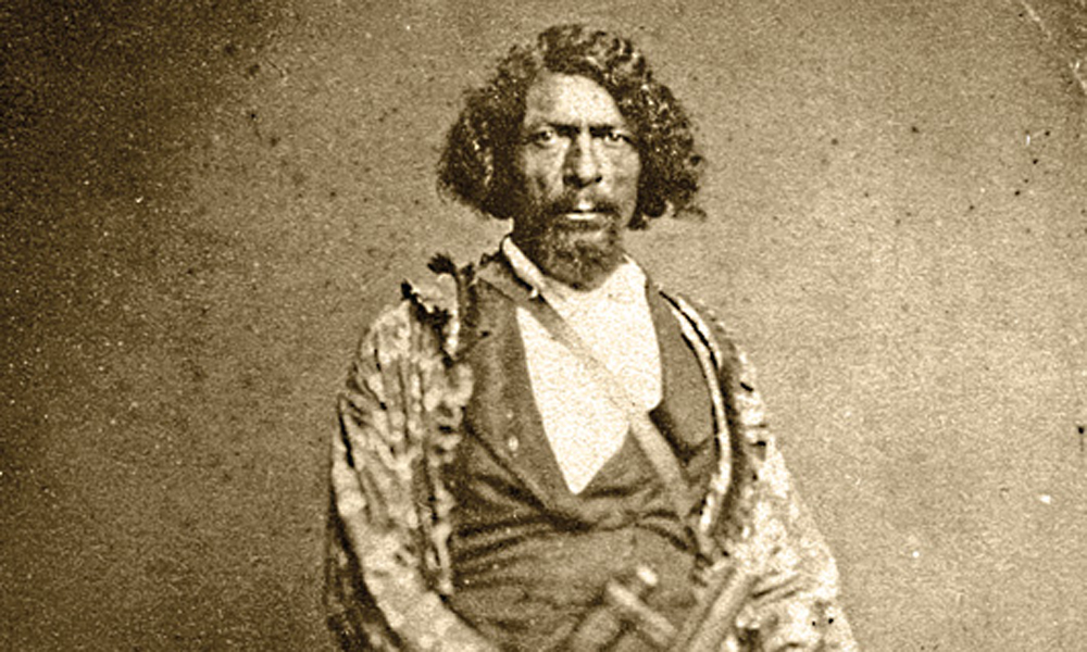 Jim Beckwourth na dobové fotografii