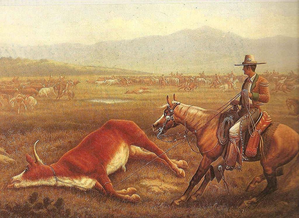 Mexickývaquero - honák dobytka.