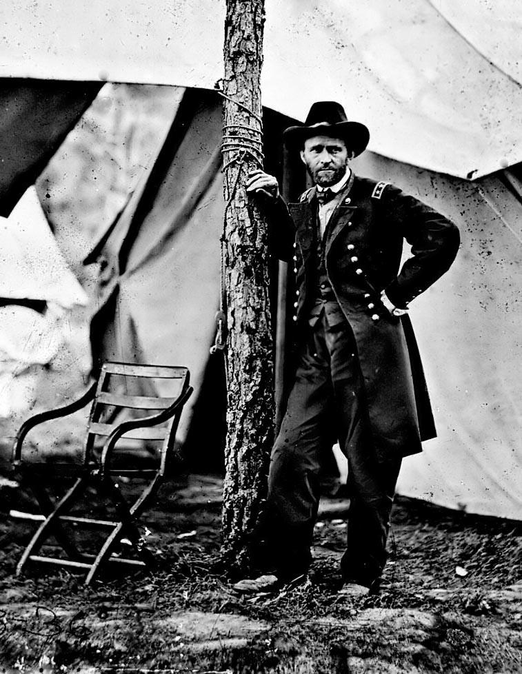 Generál a president USA Ulysses Grant.