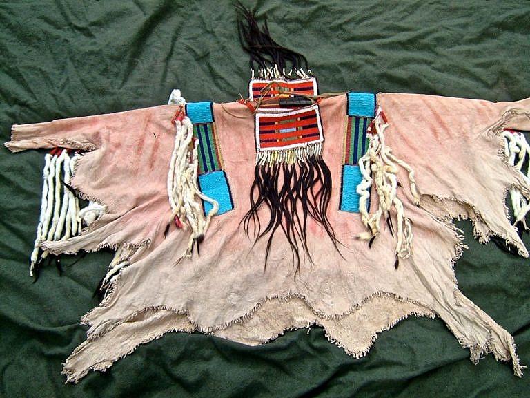 Halena, která patřila náčelníkovi kmene Propíchnutých nosů Josephovi a která byla vydražena nedávno na aukci za cenu téměř 900.000,- amerických dolarů.