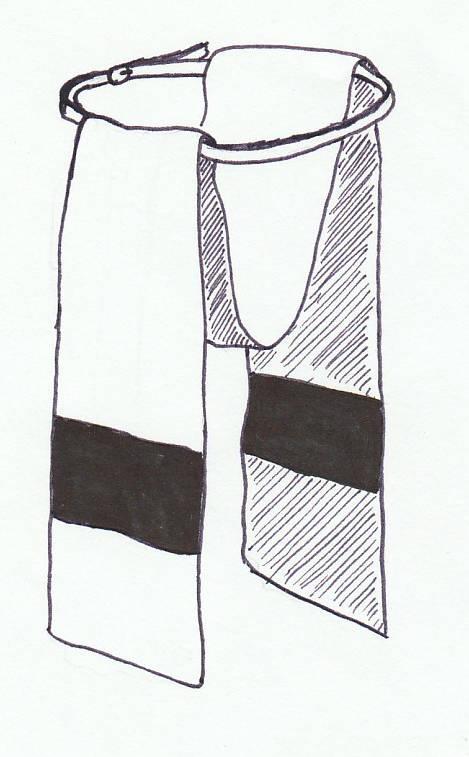 Bederka z Hudsons Bay deky - skica.