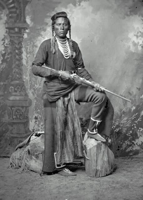 Curly-zvěd kmene Vran, který se zúčastnil bitvy na Little Bighornu jako zvěd G.A.Custera.