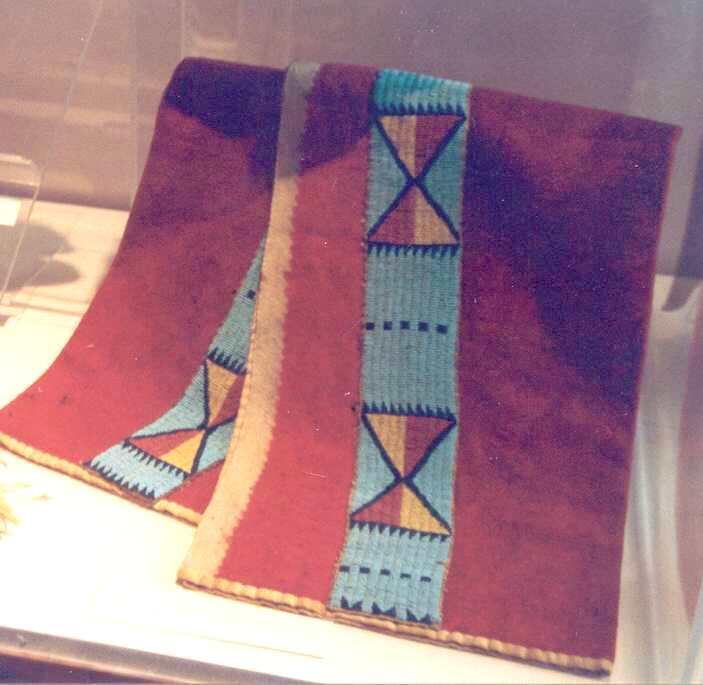 Látkové legíny kmene Lakota.