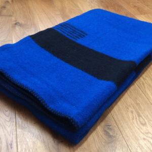 Hudsons Bay deka. Modrá.