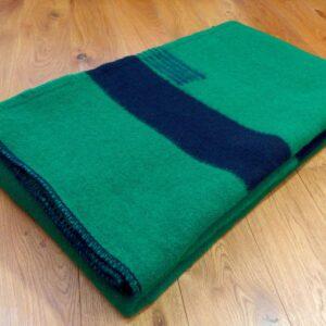 Hudsons Bay deka. Zelená.
