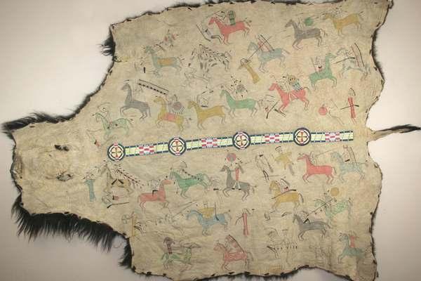 Indiánské pláště a deky