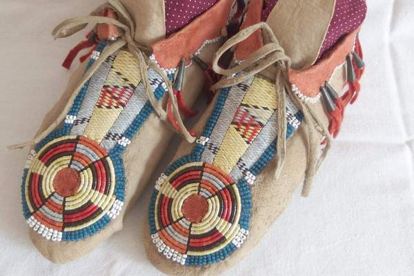 Indiánské mokasíny
