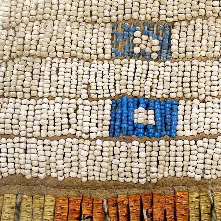 Staré korálky bony beads.