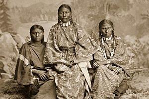 Rodina Tupého nože, náčelníka Severních šajenů.