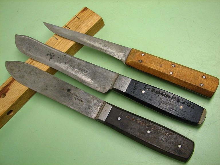 Nože Johna Russela značky Green River byly jednoduché, robustní a levnější než jejich evropští konkurenti.