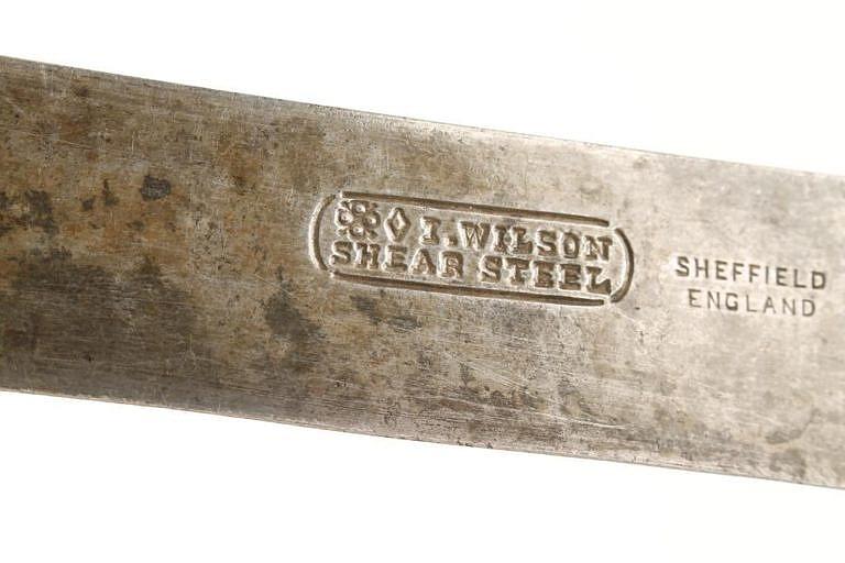 Značka Johna I. Wilsona z Sheffieldu patřila v americkém pohraničí k nejrozšířenějším evropským značkám.