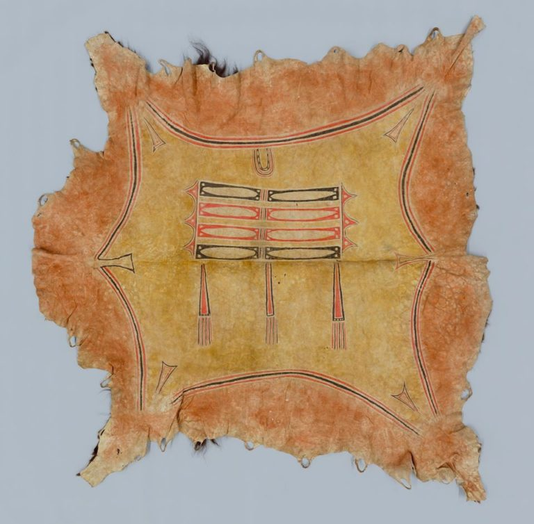 Bizoní plášť typu okraj o obdélník - jižní pláně. Yale university.