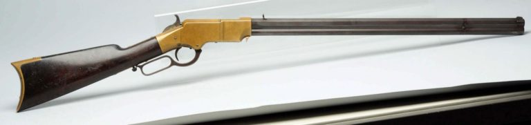 Originální puška Henry.