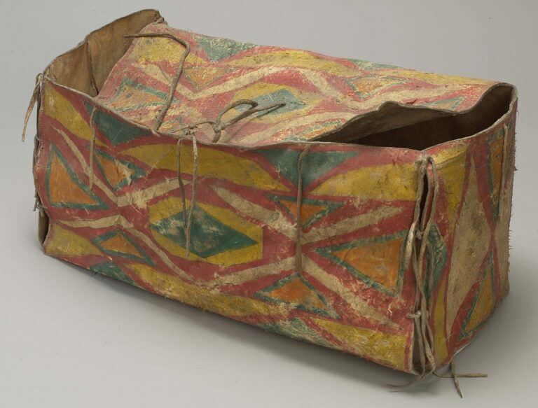 Krabice kmene Lakota.