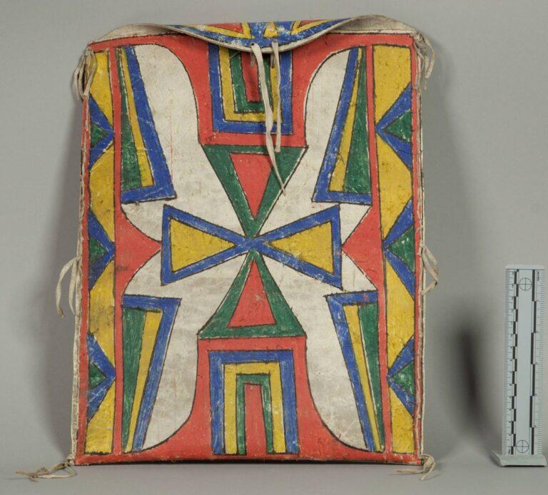 Plochá taška kmene Lakota.