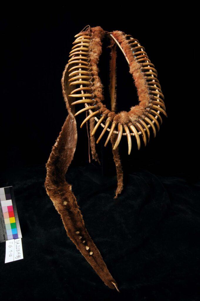 Náhrdelník kmene Pónyů z období kolem roku 1850. BBHC.