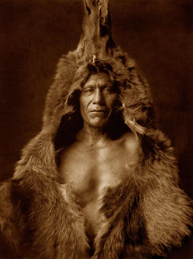 Medvědí šaman foto Curtis